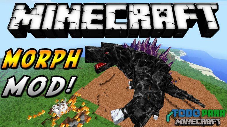 Mod Morph para Minecraft 1.12/1.9