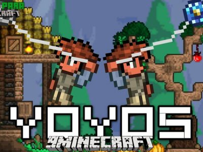 Mod Yoyos para Minecraft 1.12/1.10
