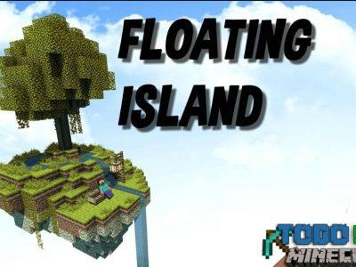 Mapa Floating Islands para Minecraft