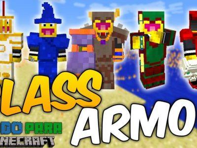 Mod Class Armor: Necromancer and Paladin para Minecraft 1.12/1.11/1.10