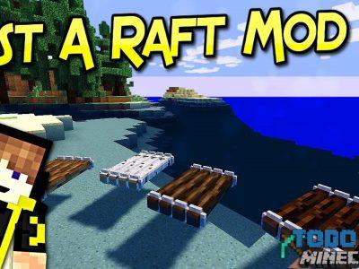 Mod Just a Raft para Minecraft 1.11/1.10