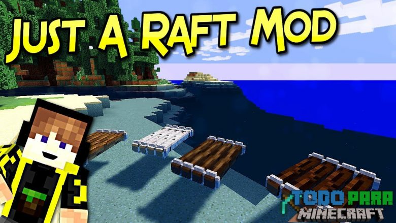 Mod Just a Raft para Minecraft 1.11/1.10