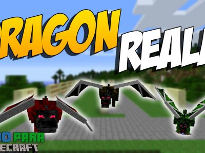 Mod Realm of the Dragon para Minecraft 1.12/1.11/1.10