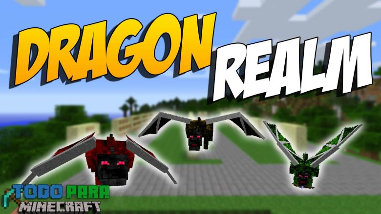 Mod Realm of the Dragon para Minecraft 1.12/1.11/1.10