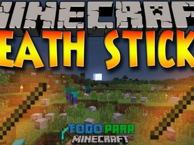 Mod Stick of Death para Minecraft 1.7/1.11/1.12